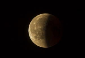Ubývající Měsíc