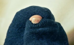Nevyhazujte staré ponožky